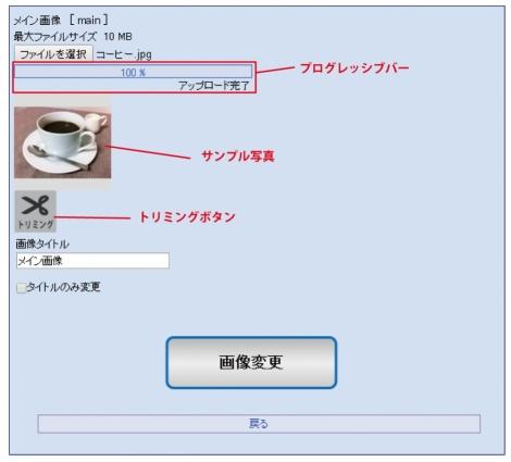 WEB55 ビジネスブログ 画像をアップロード;;