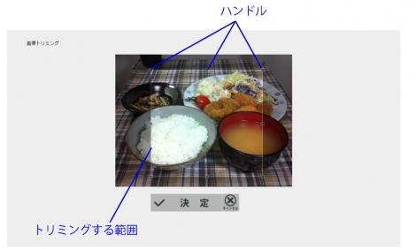 WEB55ビジネスブログおまかせパック 写真のトリミング;;