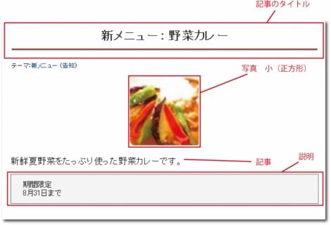 WEB55ビジネスブログおまかせパック 写真の大きさ 小(正方形);;
