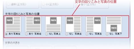 WEB55ビジネスブログおまかせパック 文字の回りこみと写真の位置