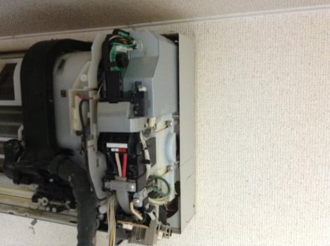 浜松おそうじハウス エアコンNational自動掃除右端