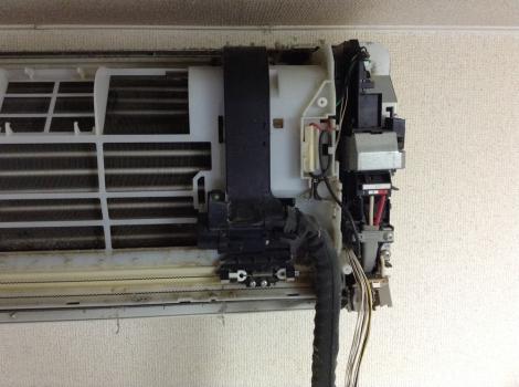 浜松おそうじハウス エアコンNational自動掃除右側