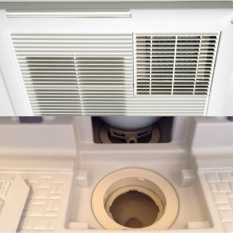 浜松おそうじハウス 換気乾燥機・エプロン・排水口 洗浄セット