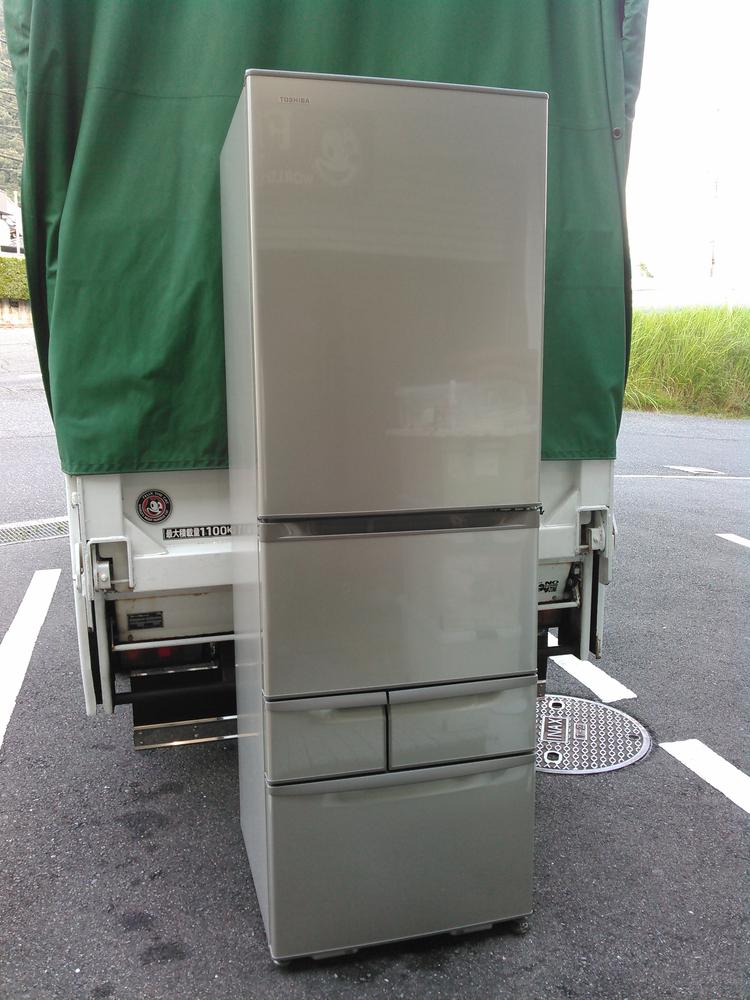 1 広島市内にて冷蔵庫.小家電.雑貨等を出張買取り致しました。 「あさひ企画」