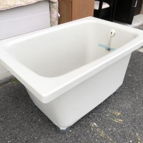 リサイクル & アウトレット はっぴー 未使用品!1.5人用95cmホーロー浴槽・お風呂・バス