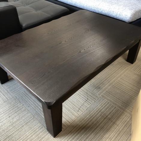 リサイクル & アウトレット はっぴー 美品!定価6万!高級 協立工芸120cm幅 家具調こたつ 天然木製