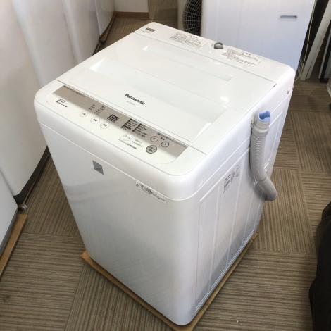 リサイクル & アウトレット はっぴー 【超美品】パナソニック 高級エディオンモデル♪ 2016年製 5.0kg全自動洗濯機