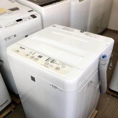 リサイクル & アウトレット はっぴー 【超美品】高級エディオンモデル♪ パナソニック 2017年製 5.0kg全自動洗濯機
