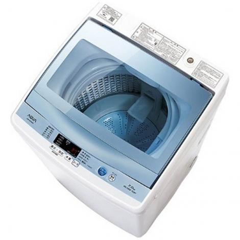 リサイクル & アウトレット はっぴー 【超美品】アクア 2017年製 7.0kg全自動洗濯機 ブルー♪