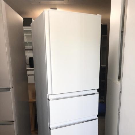 リサイクル & アウトレット はっぴー 【新品同様】高級エディオンモデル♪ 三菱 2018年製 330Lノンフロン冷凍冷蔵庫