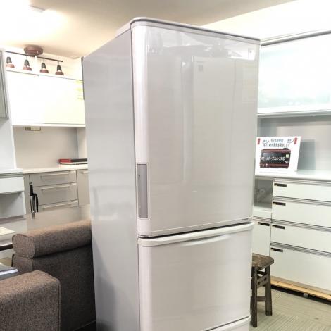 リサイクル & アウトレット はっぴー 【超美品】どっちもドア♪ シャープ 2015年製 350Lノンフロン冷凍冷蔵庫 プラズマクラスター