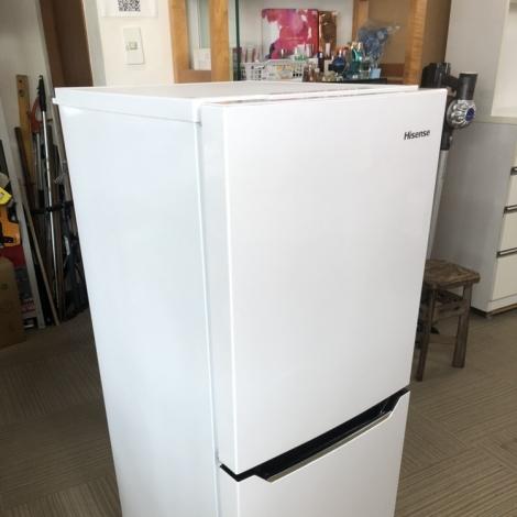 リサイクル & アウトレット はっぴー 【美品】エディオンモデル♪ ハイセンス 2016年製 130Lノンフロン冷凍冷蔵庫 パールホワイト