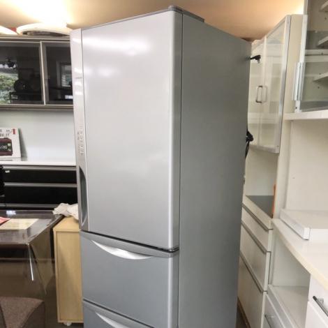 リサイクル & アウトレット はっぴー 【美品】日立 真空チルド搭載♪ 2015年製 315Lノンフロン冷凍冷蔵庫 ライトシルバー♪