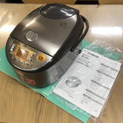 リサイクル & アウトレット はっぴー 【美品】定価35640円♪ 象印 2015年製 一升炊きIH炊飯器《極め炊き》ジャー ブラウン♪