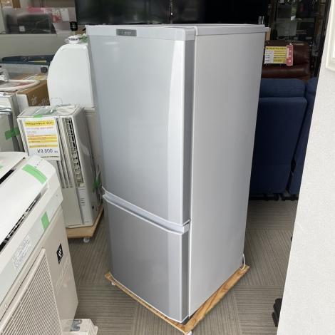 リサイクル & アウトレット はっぴー 【超美品】三菱 2020年製 146Lノンフロン冷凍冷蔵庫 シャイニーシルバー♪