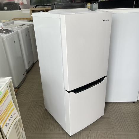 リサイクル & アウトレット はっぴー 【激安商品】エディオンモデル♪ ハイセンス 2016年製 130Lノンフロン冷凍冷蔵庫 ホワイト♪